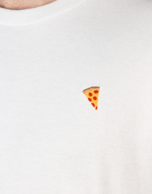 Pizza Emoji T-Shirt - White