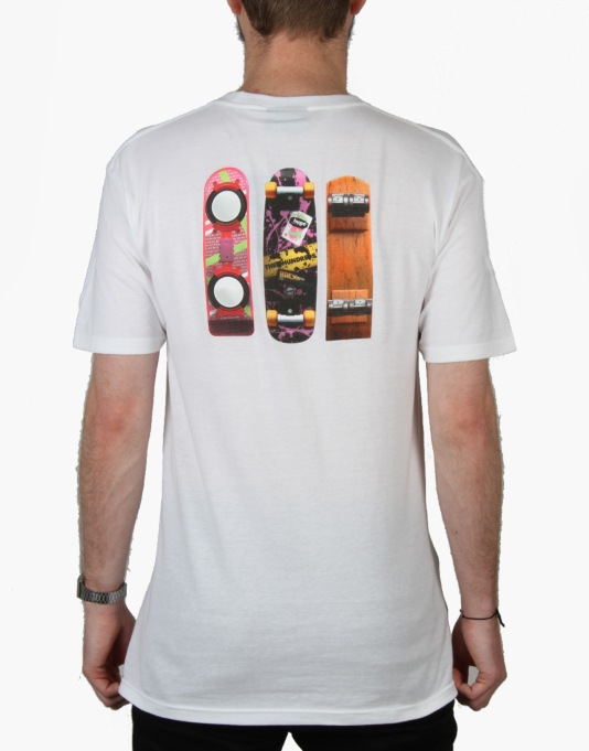 The Hundreds x Back to the Future Generations T-Shirt - White