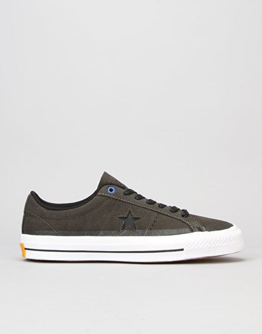 Converse One Star Pro (90's Colour) Skate Shoes - Cast Iron/BLK/