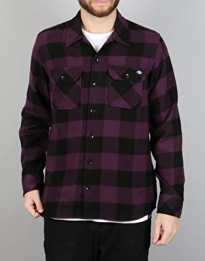 Dickies Sacramento Shirt - Plum