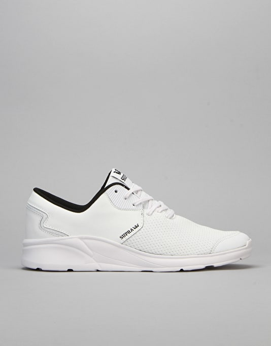 Supra Noiz Shoes - White/White