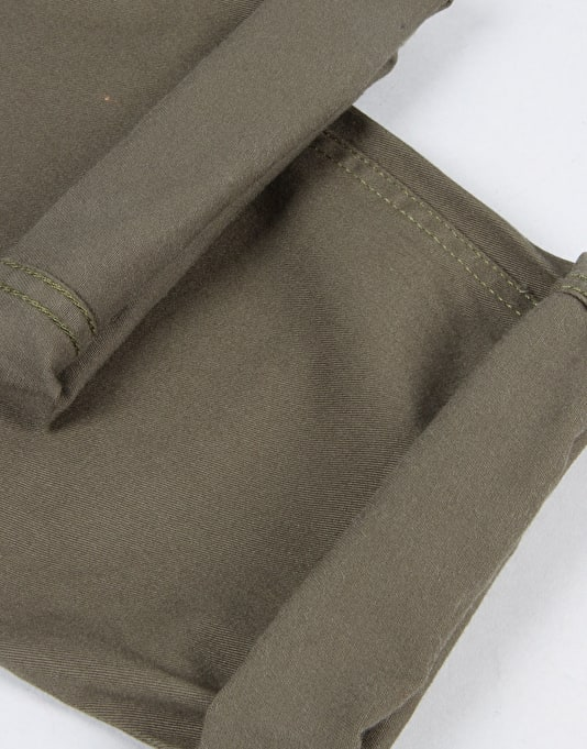 DC Worker Slim Chino Pant - Fatigue Green