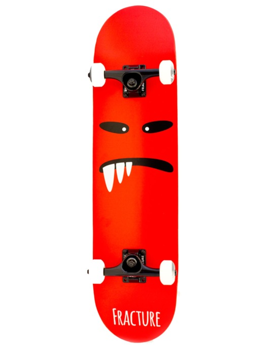 Fracture Lil' Monsters Complete Skateboard - 7.75""