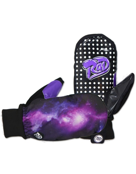 Radical Gloves The Ripper 2016 Snowboard Mitts - Galaxy