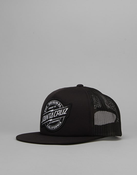 Santa Cruz Works Trucker Cap - Black