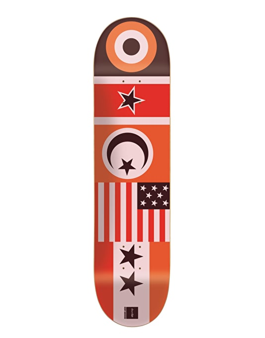Chocolate Anderson Flags Skateboard Deck - 8.125""