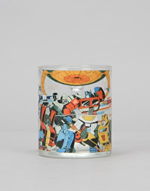 Primitive x Transformers Battlefield Glass Mug