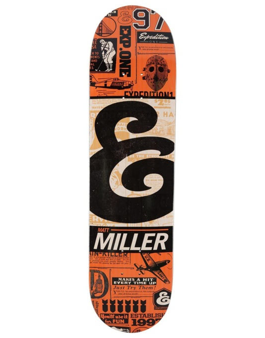 Expedition One Miller Classifieds Pro Deck - 7.9""
