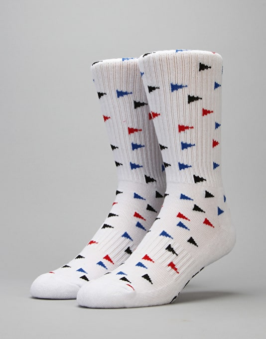Globe Flag Crew Socks - 5 Pack
