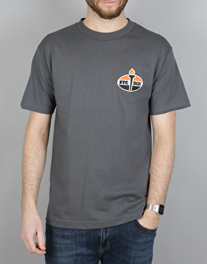 DGK x FTC Torch T-Shirt - Charcoal