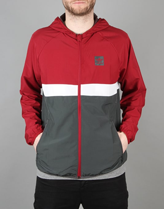 Adidas BB Wind Jacket - Collegiate Burgundy