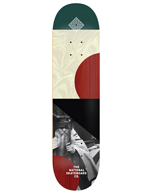 The National Skateboard Co. -MD- Team Deck - 8.125""