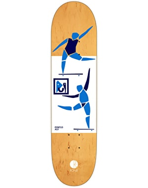 Polar Alv Two Figures One Painting Pro Deck - 8.375