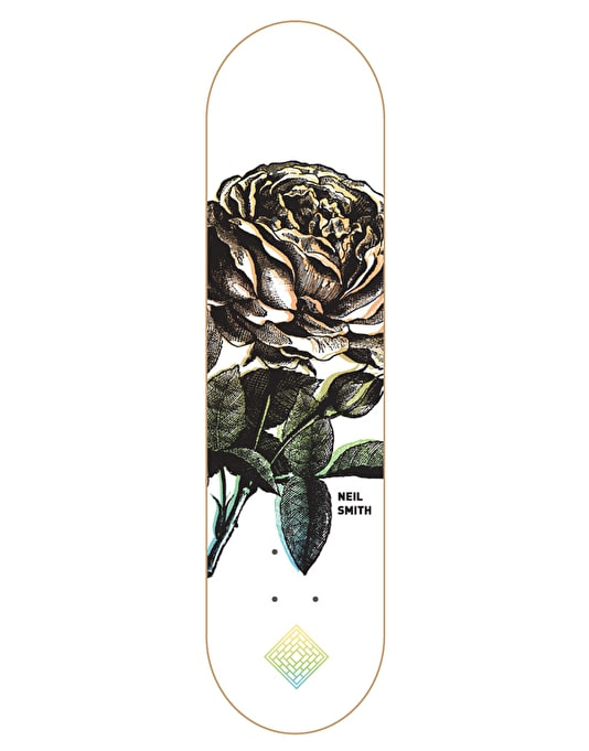 The National Skateboard Co. Smith Roses 3 Pro Deck - 8""