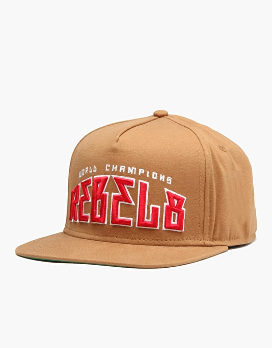 Rebel8 World Champions Snapback Cap - Canvas