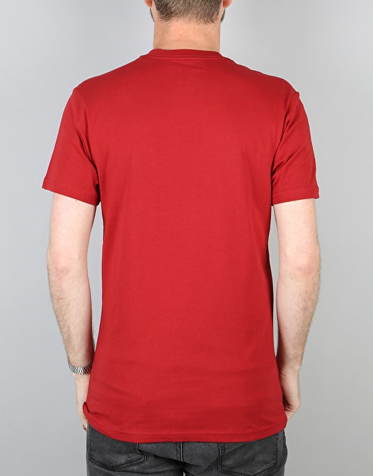 Vans OTW T-Shirt - Red Dahlia/Bright White
