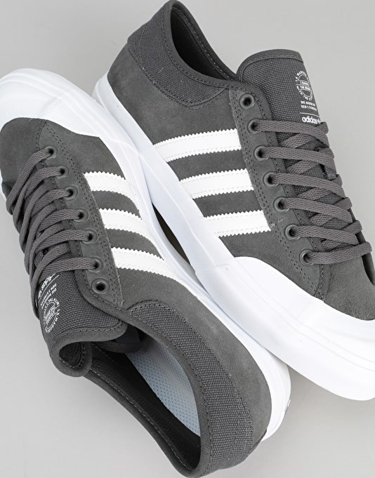 Adidas Matchcourt ADV Skate Shoes - DGH Solid Grey