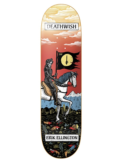 Deathwish Ellington Tarot Card Pro Deck - 7.875""