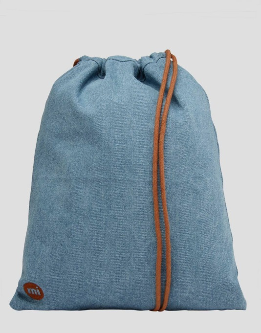 Mi-Pac Denim Kit Bag - Stonewash