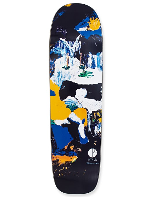 Polar Alv Two Cows Pro Deck - P1 Shape 8.75""