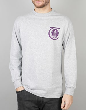 Theories Morning Star L/S T-Shirt - Heather/Wine