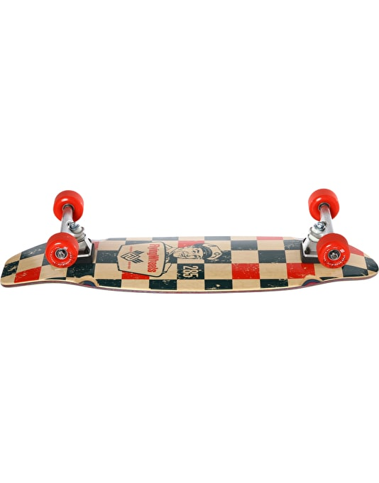 "Flying Wheels Gasoline Cruiser - 8.5"" x 28.5"""