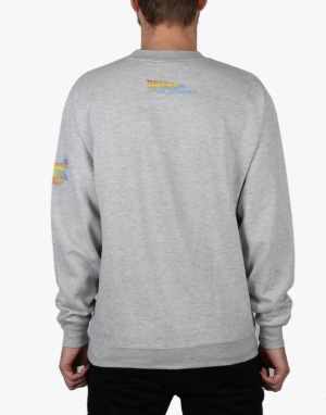 The Hundreds x Back to the Future Back to the Hundreds Crewneck