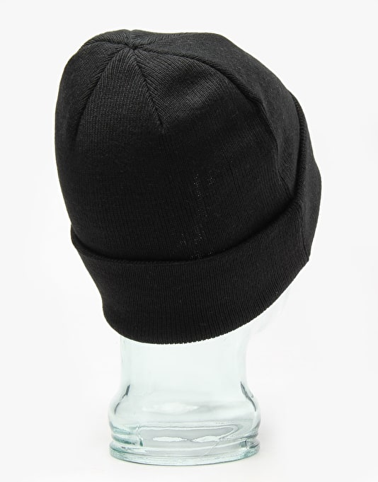 Hélas Embroidered Beanie - Black
