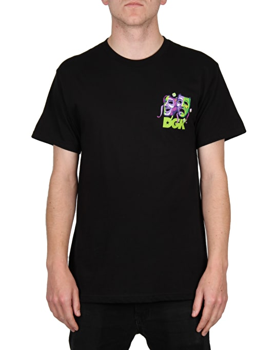 DGK Laugh Now Cry Later T-Shirt - Black