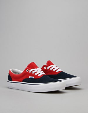 Vans Era Pro Skate Shoes - 76 Navy/Red