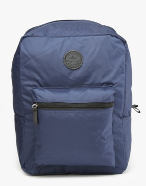 Converse Classic Nylon Backpack - Navy/White/Blue