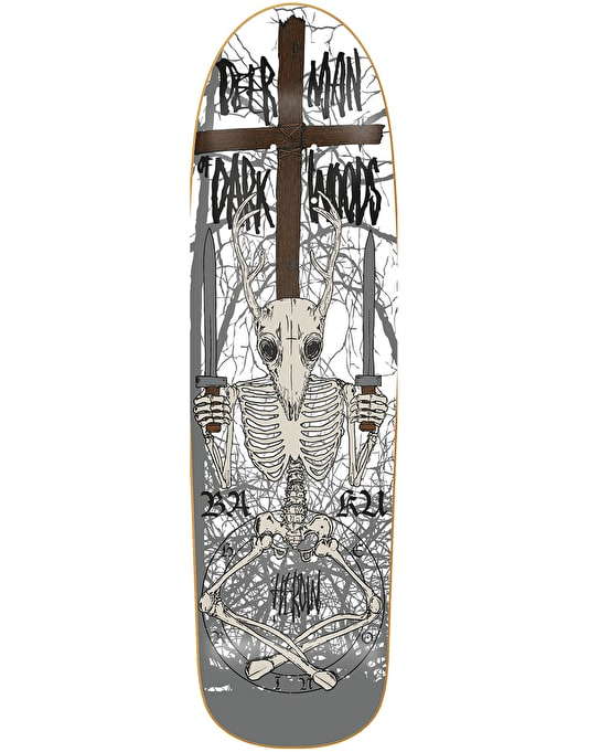 Heroin Deer Man of Dark Woods Skeletal Pro Deck - 9.5""