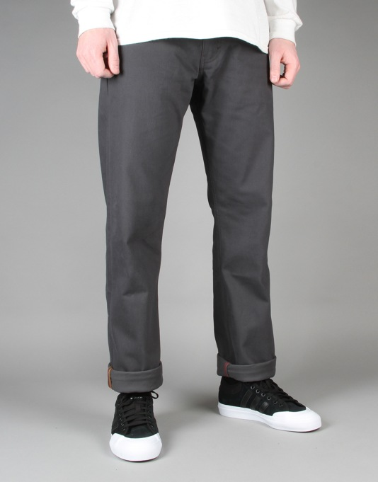 Levi's Skateboarding 504 Regular Straight Denim - Bull Denim Graphite