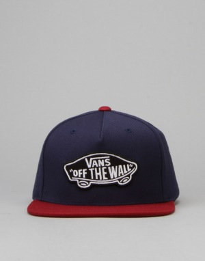 Vans Classic Patch Snapback Cap - Dress Blue/Rhubarb
