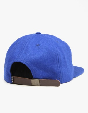 HUF Home Field Wool Strapback Cap - Royal Blue