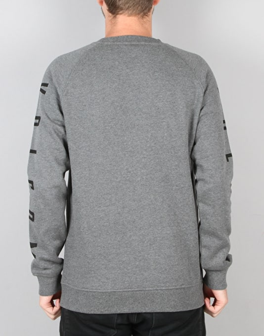 Volcom Stone Pack Crew - Heather Grey
