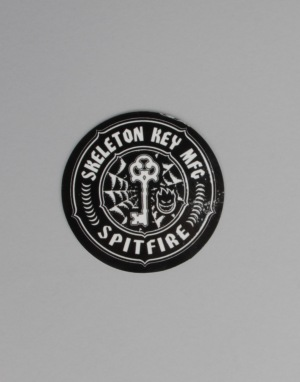 Spitfire x Skeleton Key MFG Logo Sticker