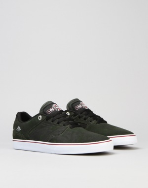 Emerica x Independent The Reynolds Low Vulc - Dark Green