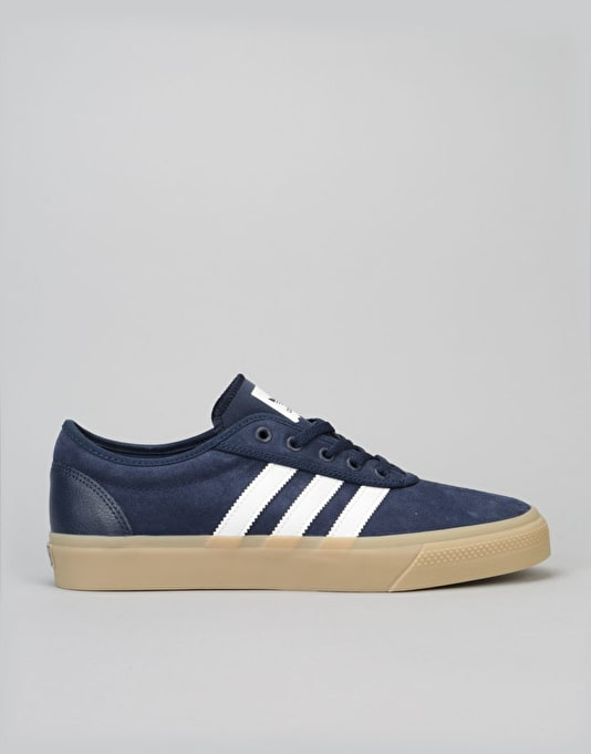 Adidas Adi-Ease Skate Shoes - Collegiate Navy/White/Gum