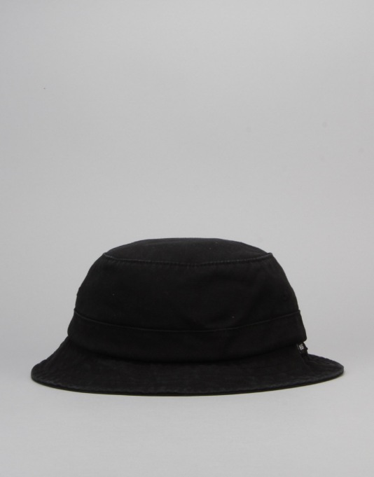 HUF Washed Twill Bucket Hat - Black
