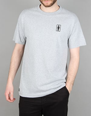 Girl 93 OG T-Shirt - Heather Grey