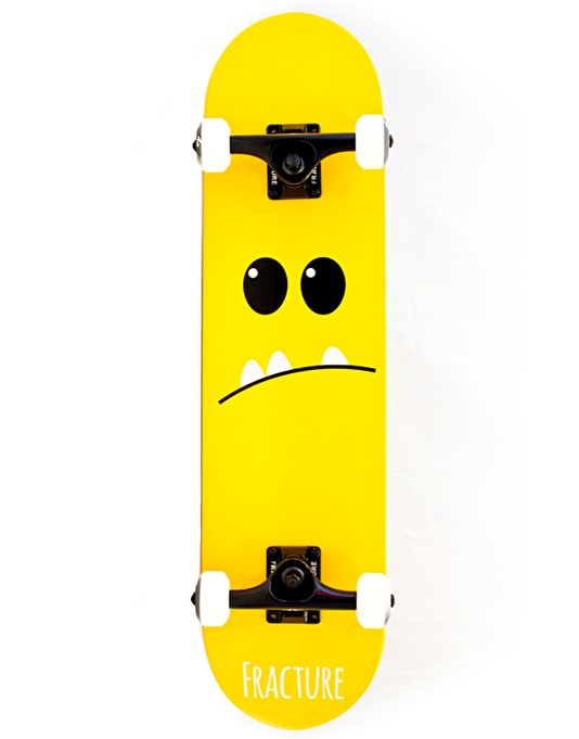 Fracture Lil' Monsters Mini Complete Skateboard - 7.25""
