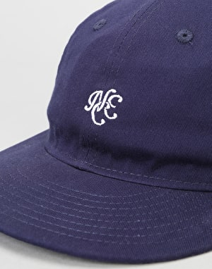 New Era 9Fifty Unstructured Strapback Cap - Light Navy