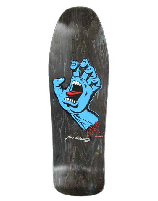 Santa Cruz Screaming Hand OG Ltd Ed Team Deck - 10""