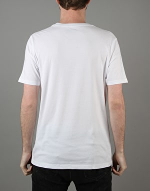 Converse Core Left Chest CP Crew T-Shirt - Converse White