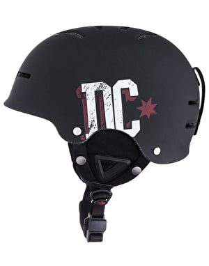 DC Drifter 2016 Snowboard Helmet - Black/Red/White