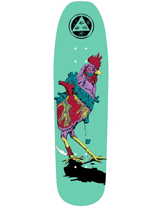 Welcome Cage Free Heart on Nimbus 3000 Team Deck - 8.5""