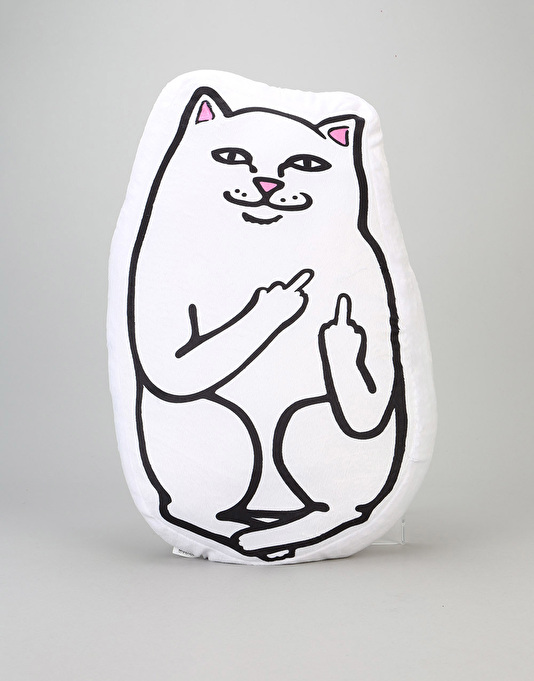 RIPNDIP Lord Nermal Pillow - White