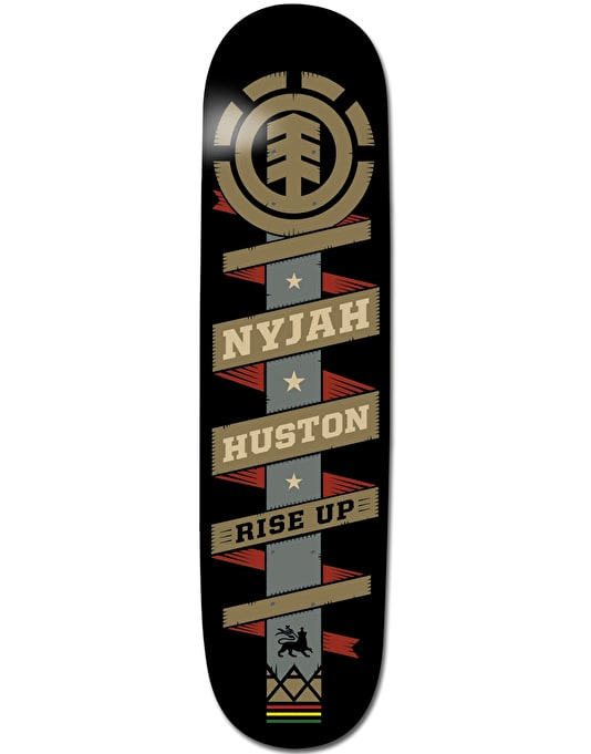 Element Nyjah Banner Featherlight Pro Deck - 7.75""
