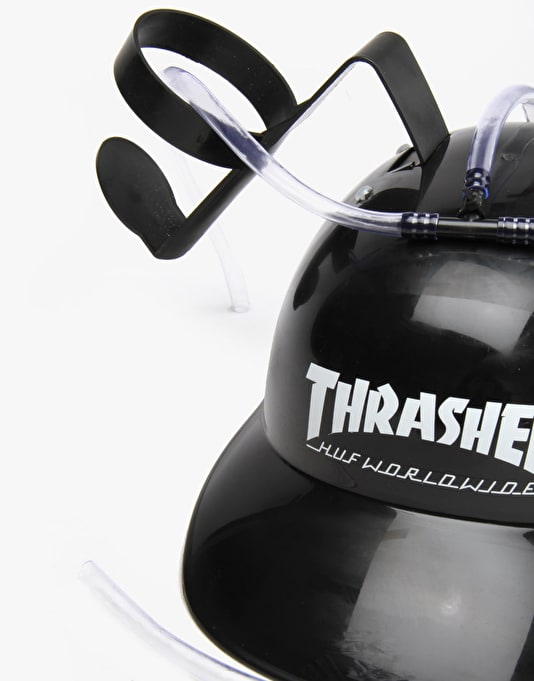 HUF x Thrasher Beer Helmet - Black